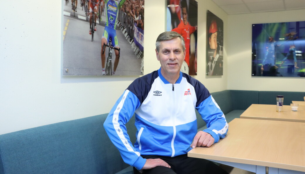 Daglig leder på NTG, Åge Steen, kunne lettet konstatere at frafallet i idretten i hvert fall ikke skjer på NTG Kongsvinger med det aller første.