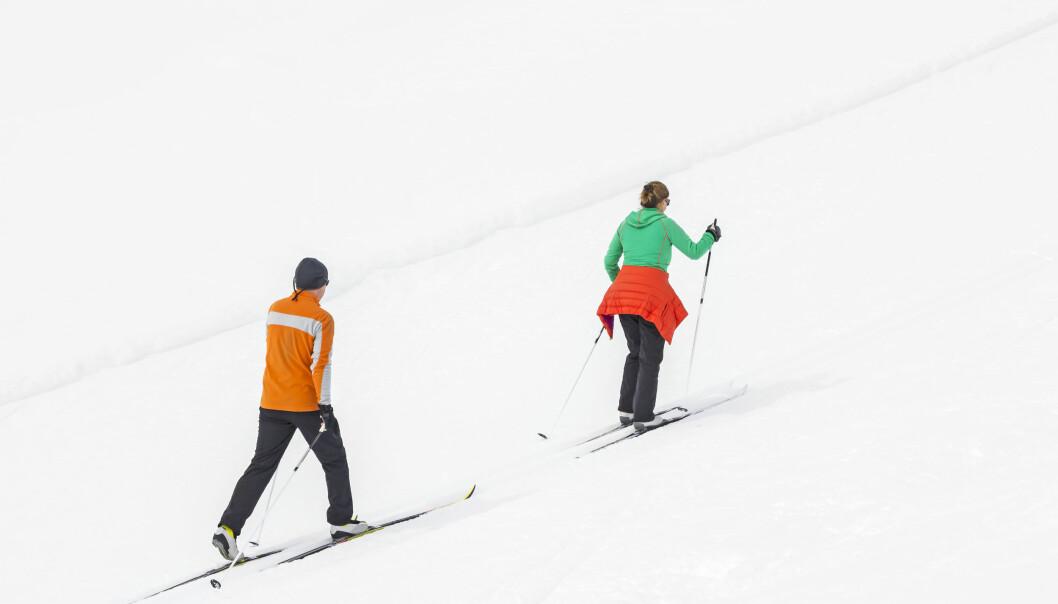 Denne påsken blir det mindre ski på fjellet enn andre år.