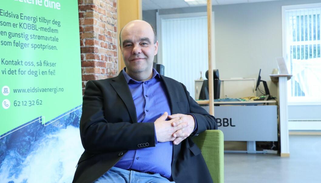 Administrerende direktør i KOBBL, Odd Henning Dypvik, er også ny daglig leder i KOBBL Utvikling AS.