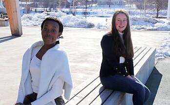 Karen og Allegra-Corine deltar i Skandinavias største språkkonkurranse