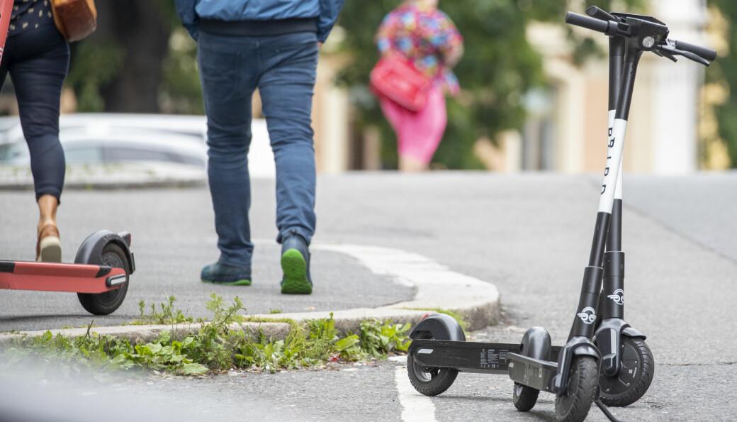 Disse Bird-sparkesyklene kan ende opp i Kongsvingers bybilde ganske snart.