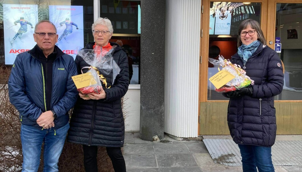 Vinnerne fikk premiene sine tidligere denne uken. Irene og Arne Svendsrud tok selv imot premien sin, mens Nora Sunde og Ingjerd Engh ikke hadde mulighet til å komme. Sundes mor, Turid, tok imot premien på hennes veiene, mens Engh får sin ved en senere anledning.