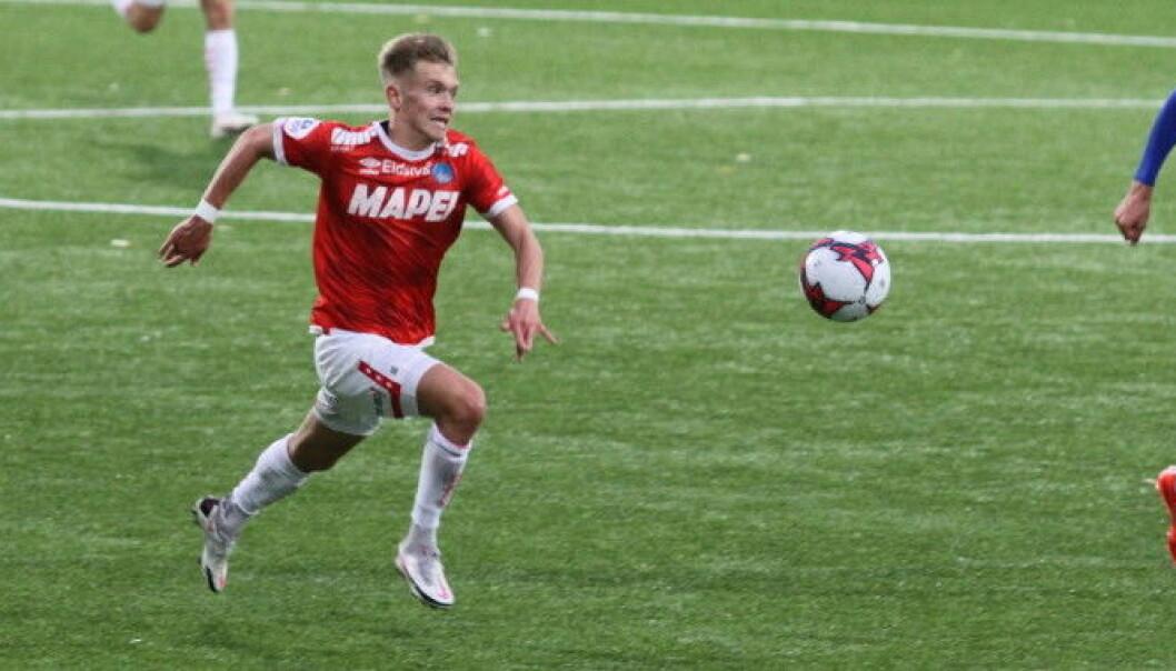 Martin Tangen Vinjor har signert ny treårskontrakt med KIL.
