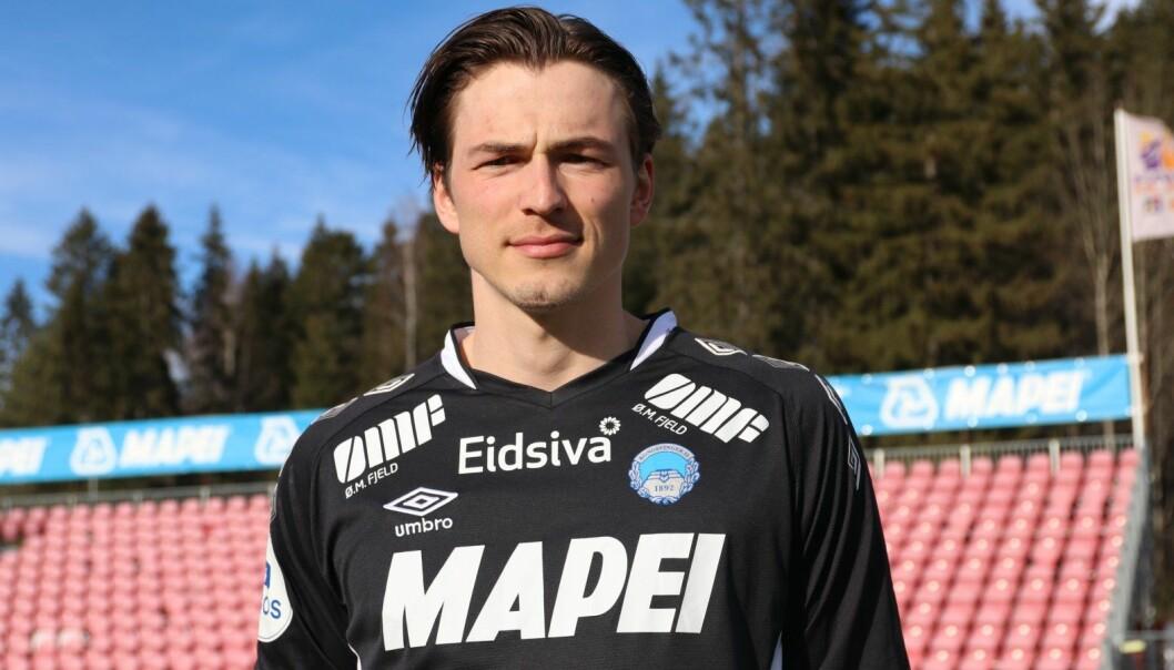 KILs nye keeper, Andreas Vedeler, er nesten to meter på strømelesten.