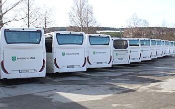 Disse bussholdeplassene er nå ute av drift