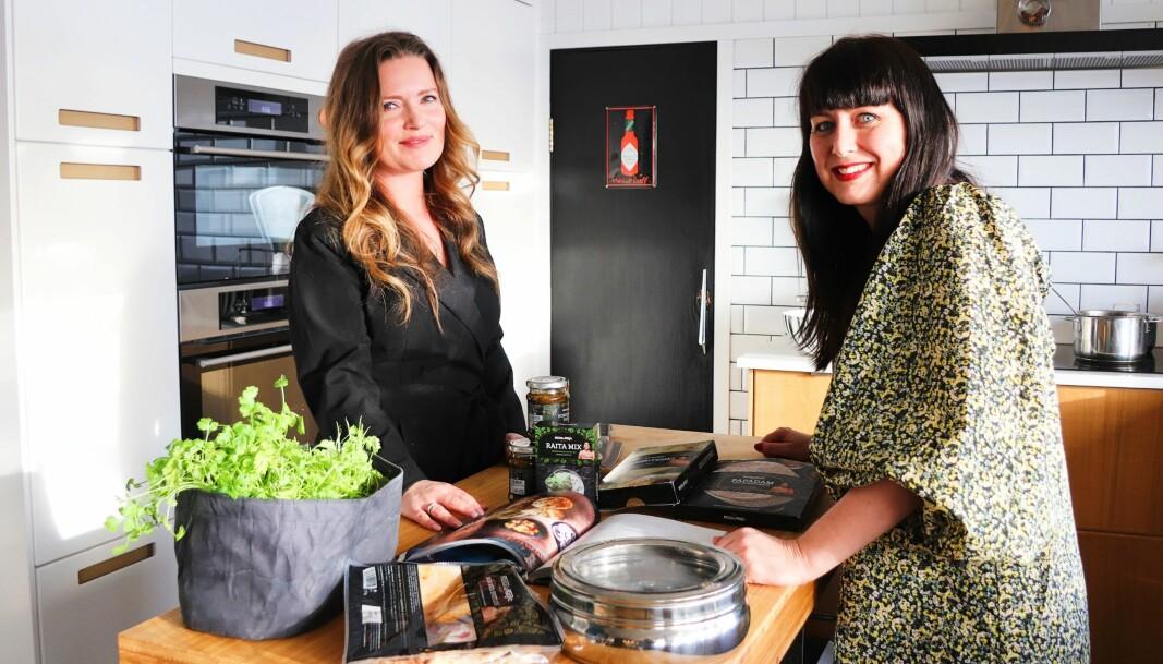 Indisk mat handler om basisvarer, Stine Westlund og Teresa Bergerud har funnet frem krydderblandingene. Det er konseptet Masalamagic de to Kongsvinger-damene videreutvikler.