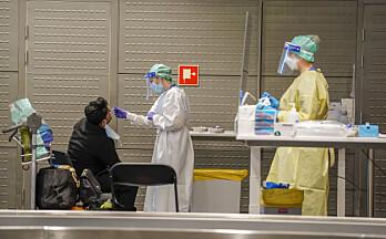 Regjeringen strammer inn på grensene – alle reisende må ha mindre enn 24 timer gammel test