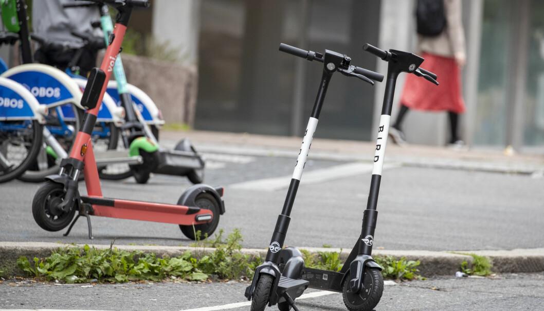 Jonas Lefebure i Bird søkte kommunen om å sette ut elsparkesykler i byen.