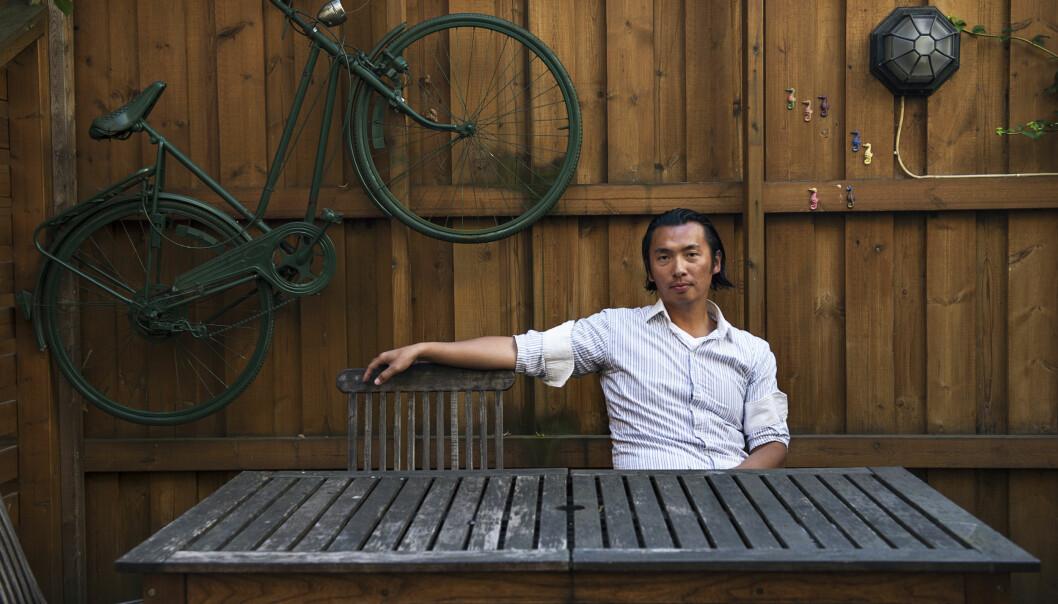 Olav Chen er oppvokst med familiebedriften Kina-restauranten i Kongsvinger. Selv mener han det har bidratt til hans egen arbeidsmoral.
