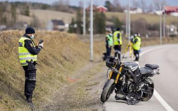 Navnet på den omkomne i motorsykkel-ulykka er frigitt