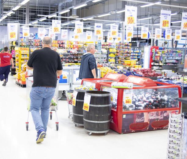 Lokal omsetning vokste med en tredjedel uten grensehandelen