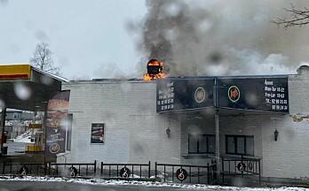 Brann ved Gjemselund