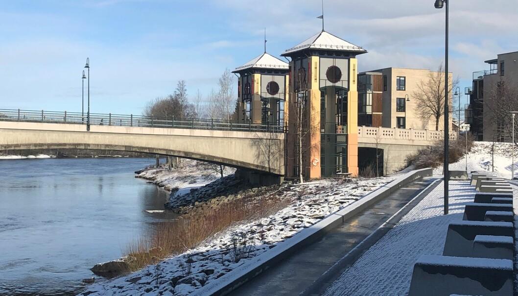 Forbi Gjemselund-brua kommer kommunen ganske raskt til å prosjektere og bygge demning.