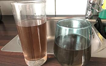 Fortsatt meldinger om misfarget vann i springen