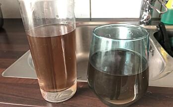 Fortsatt noen tilfeller av misfarget vann – ber folk si ifra
