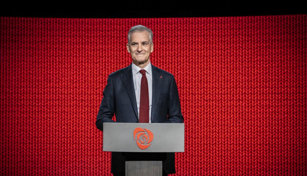 Partileder i Arbeiderpartiet, Jonas Gahr Støre.