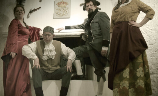 Inviterer til ny 1700-tallsfest