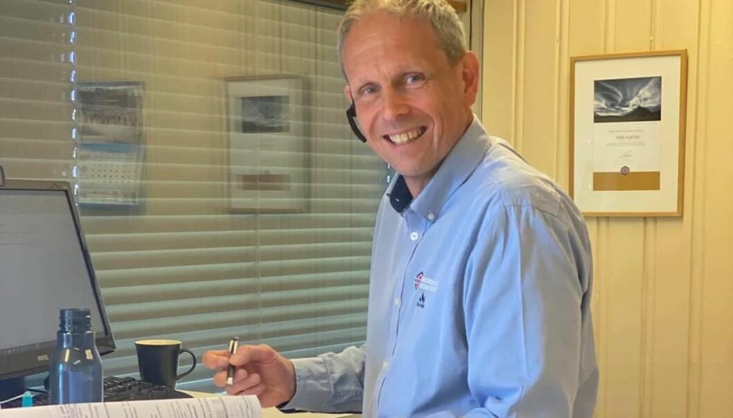 Selger Tore Fløiten hadde en annerledes dag på jobben tirsdag. Aldri har han opplevd større interesse for boligtomter i Kongsvinger enn i dag.