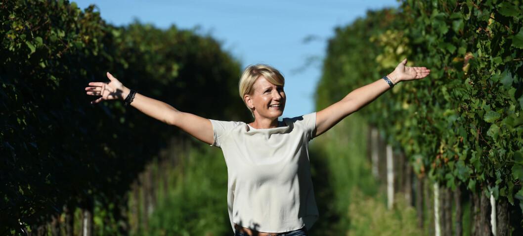 Marthe brenner for å vise frem sitt Italia