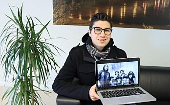 Sadug (20) får plass på Nasjonalmuseet: – Inspirert av røttene mine