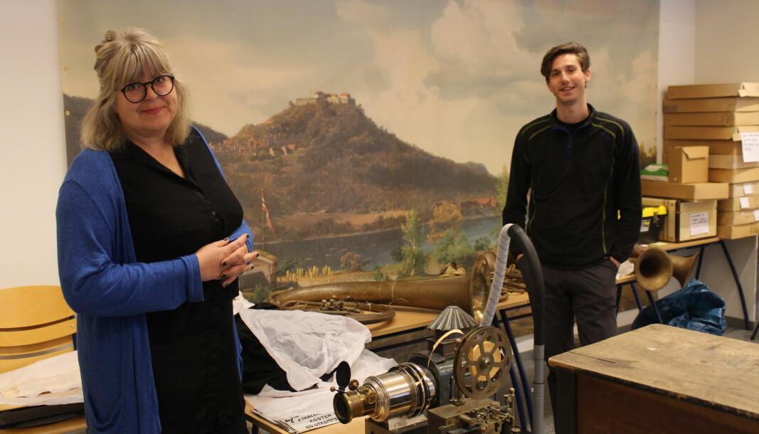 Avdelingsdirektør i Anno museum i Kongsvingerregionen, Mona Pedersen, og faglig rådgiver, Amund Skagsoset Kristiansen, gir oss en sniktitt av det museet planlegger i år.
