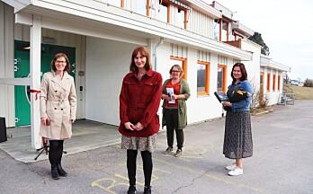 Åpnet bibliotek på Austmarka: - Et tilbud for hele bygda