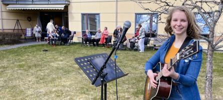 Holdt konsert for Langelandhjemmet