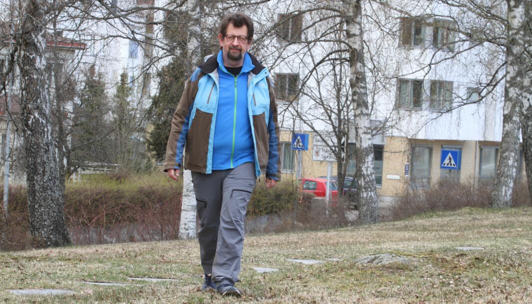 Lars Ovlien har funnet dokumentasjon som viser at Byparken ikke var en gave til befolkningen. Kongsvinger kommune har hele tiden vært eiere av parken.