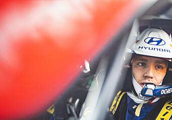 Pangstart på seks travle uker - nå venter et nytt løp i WRC-bil