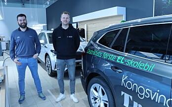Blir første trafikkskole med elbil