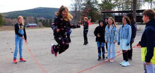 Deltar i nasjonal hoppetaukonkurranse
