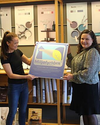 Markerer fire nye, lokale Miljøfyrtårn