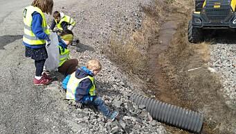 Miljøuke på montessoriskolen: – Jeg tror nok vi har fått noen små miljøagenter i Kongsvinger etter denne uka