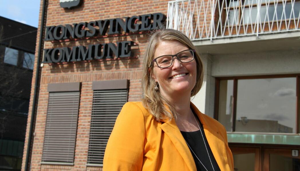 Kommunalsjef Cathrine Pedersen sier det er en anerkjennelse at Kongsvinger var i finaleheatet om å bli Årets pårørendekommune.