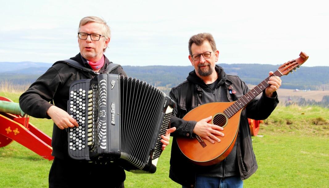 Øivind Roos (t.v.) og Lars Ovlien.