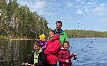 Et fiskeeldorado langt til skogs