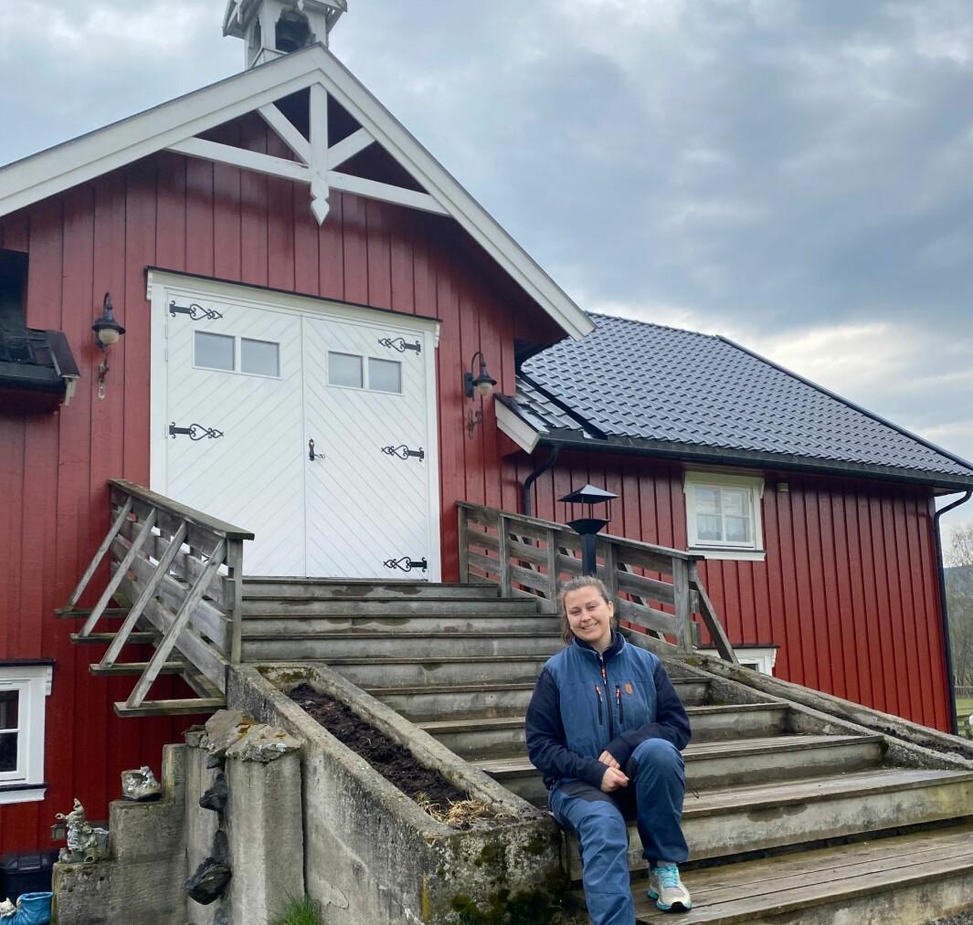 Guro Stensbøl har bestemt seg for at det er på Klokkertunet hun vil være og bo.