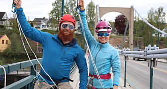 Så du «To sprelske» på Kongsvinger bru?