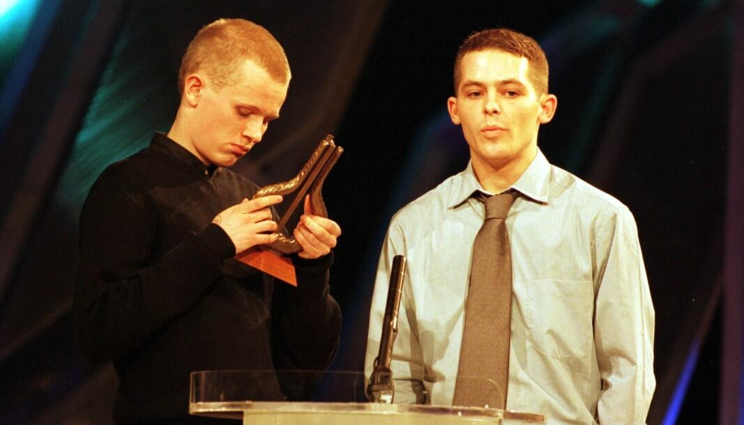 I 1998 vant Päronsoda, med Kongsvinger-guttene Marius Våreid (t.h.) og Espen Enger, Spellemannprisen i kategorien dance for albumet A Nightclub In Tunisia. Nå kan albumet komme på vinyl.