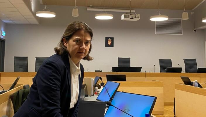 Advokat Siri Brænden er skolejentas bistandsadvokat. Hun sier klienten er glad for å ha blitt trodd på alle punkter.