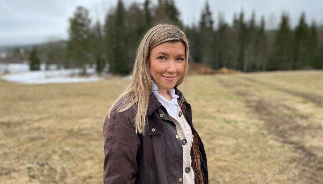 Høyres stortingskandidat for Innlandet, Anna Molberg, var veldig fornøyd med regjeringskollegene i går med påplusningene i NTP for jernbanen lokalt.