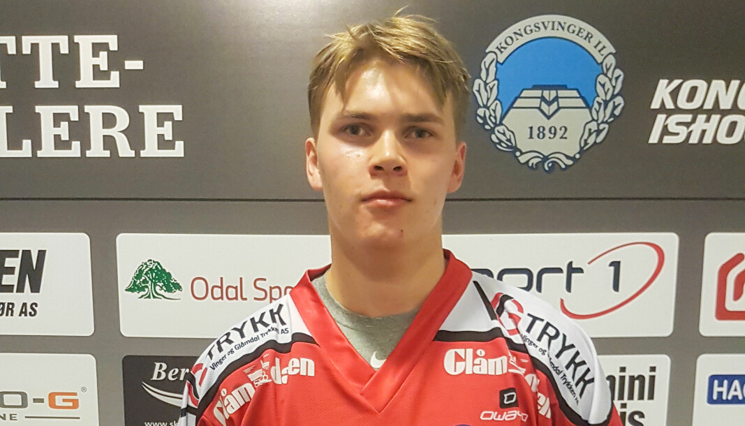 Oliver Risberg er klar for en ny sesong i Kongsvinger-drakta.
