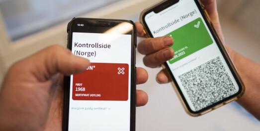 Slik kan koronasertifikatet brukes i Norge