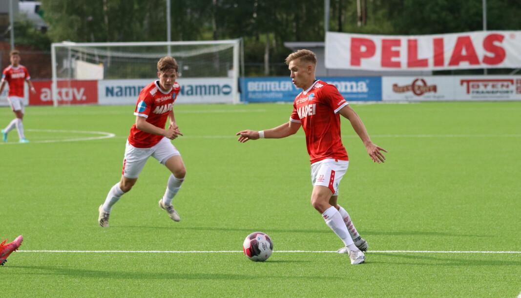 Martin Tangen Vinjor scoret KILs mål mot Raufoss.