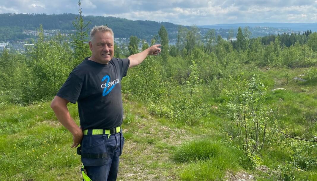 Arne Jørgen Bøhnsdalen har i årevis ønsket å bygge ut området Øvre Marikollen til boliger. Foreløpig har han bare hatt utgifter og frustrasjon igjen for planene.