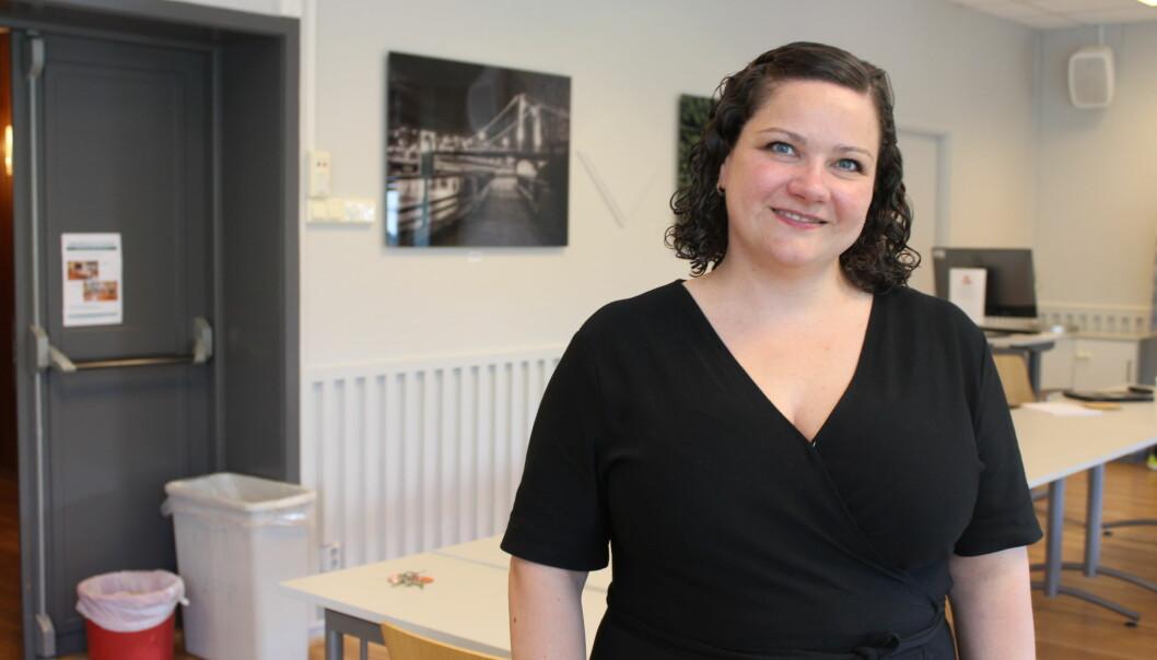 Ordfører Margrethe Haarr kan glede seg over et kjempevalg for Sp i Kongsvinger.