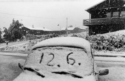 For 40 år siden snødde det i juni