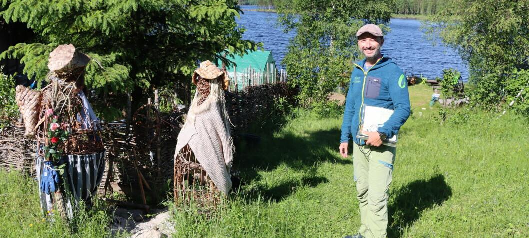 Knut Egil satser som turistgründer på hjemmebane