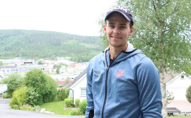Henrik (23) reiser fra Kongsvinger til OL