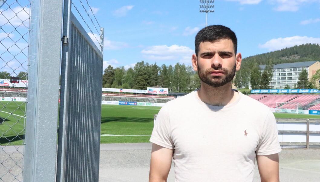 Mahmoud Laham har bitt seg fast i laget under oppkjøringen.